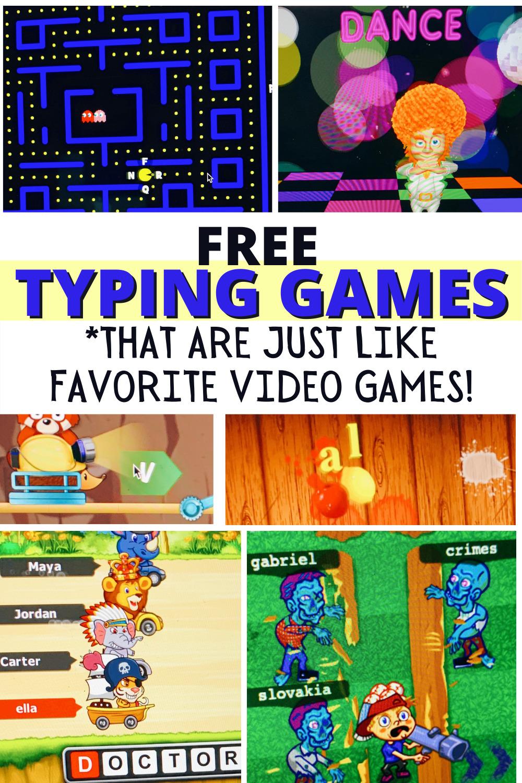 Free Keyboarding Typing Games Like Favorite Video Games