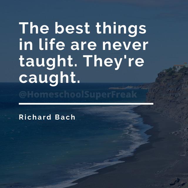 Homeschool Quote Richard Bach