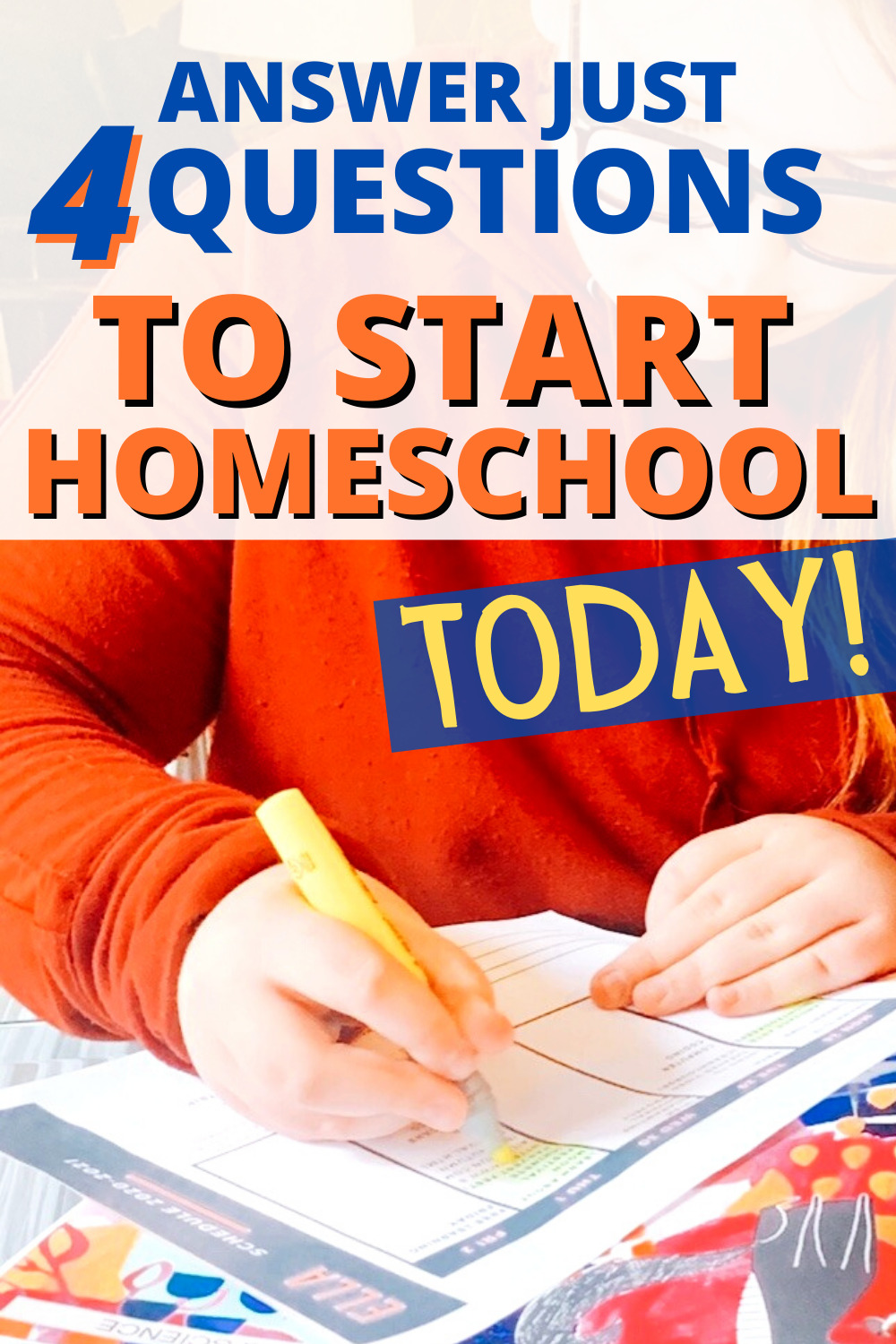 How To Prepare for Homeschooling