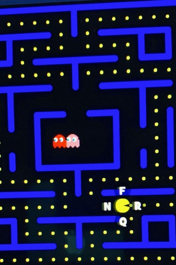 PacMan Typing Keyboarding Typing Game
