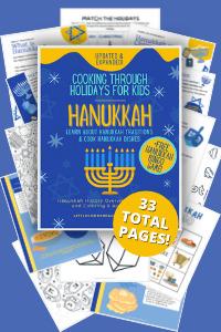 Hanukkah Printables for Kids