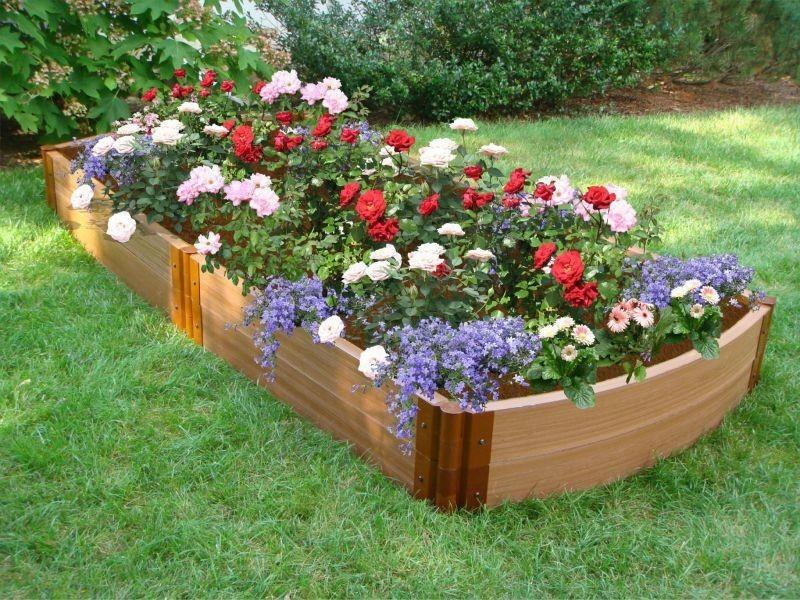 Garden Bed Ideas On Frontyard And Backyard Homescorner Com