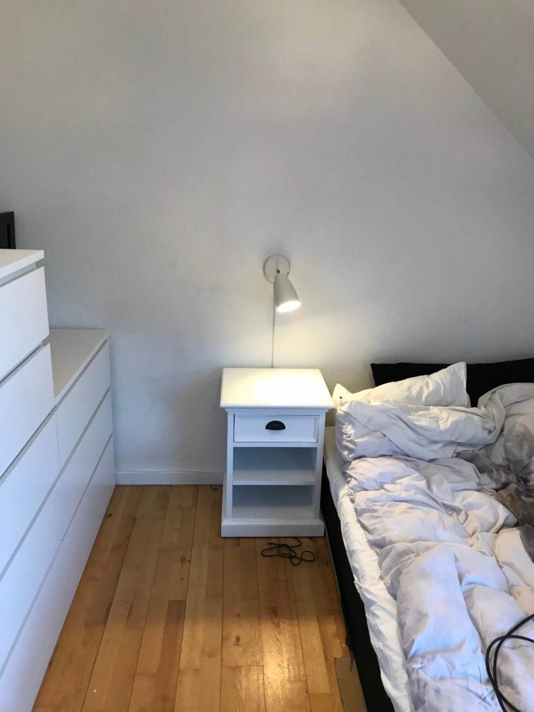 Montering Af Ikea Vaeglampe Med El Tilslutning Og Kabelskjuler Homesetup Dk