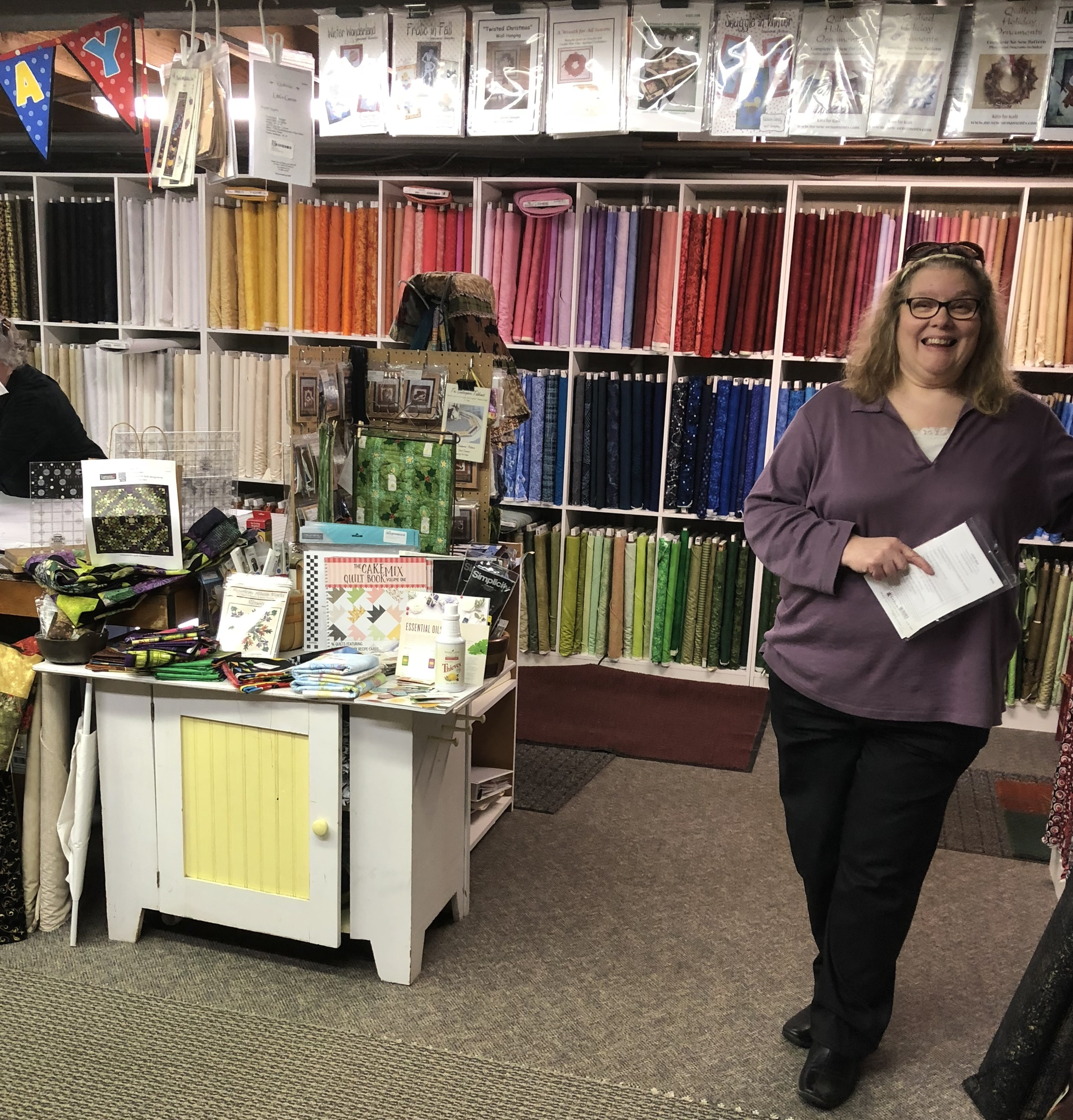 Road Trip - That Quilt Shop, Woodstock, IL – Home Sewn By Us : quilt shops appleton wi - Adamdwight.com
