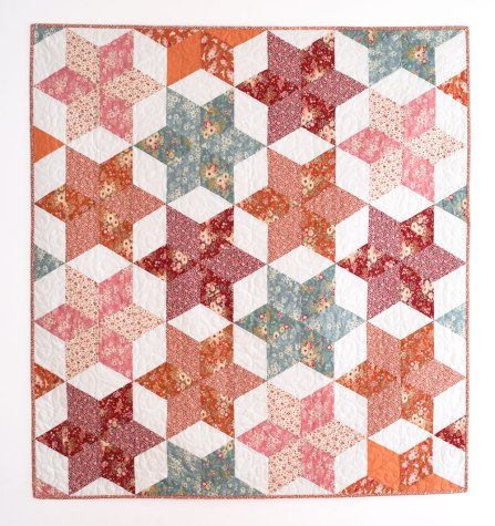 Tutorial Triangle Quilt Free Pattern Home Sewn By Us