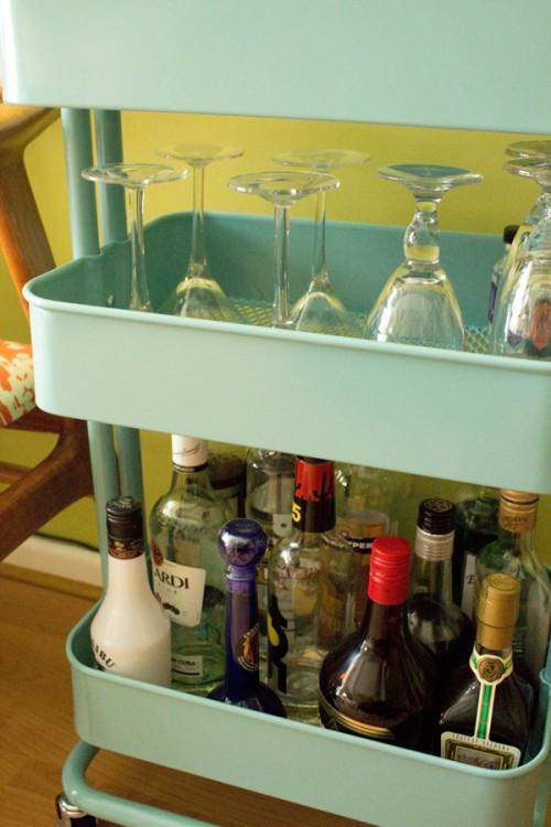 Bar Carts Ikea Practical Decorative Party Property