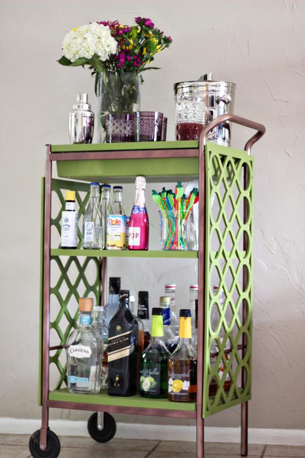 Bar Carts Ikea Practical Decorative Party Property HomesFeed