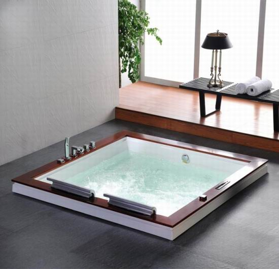 Built In Hot Tubs Provides Luxury And Extra Comfort HomesFeed