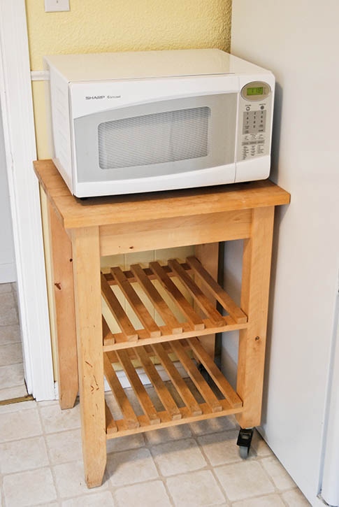 Making Microwave Cart