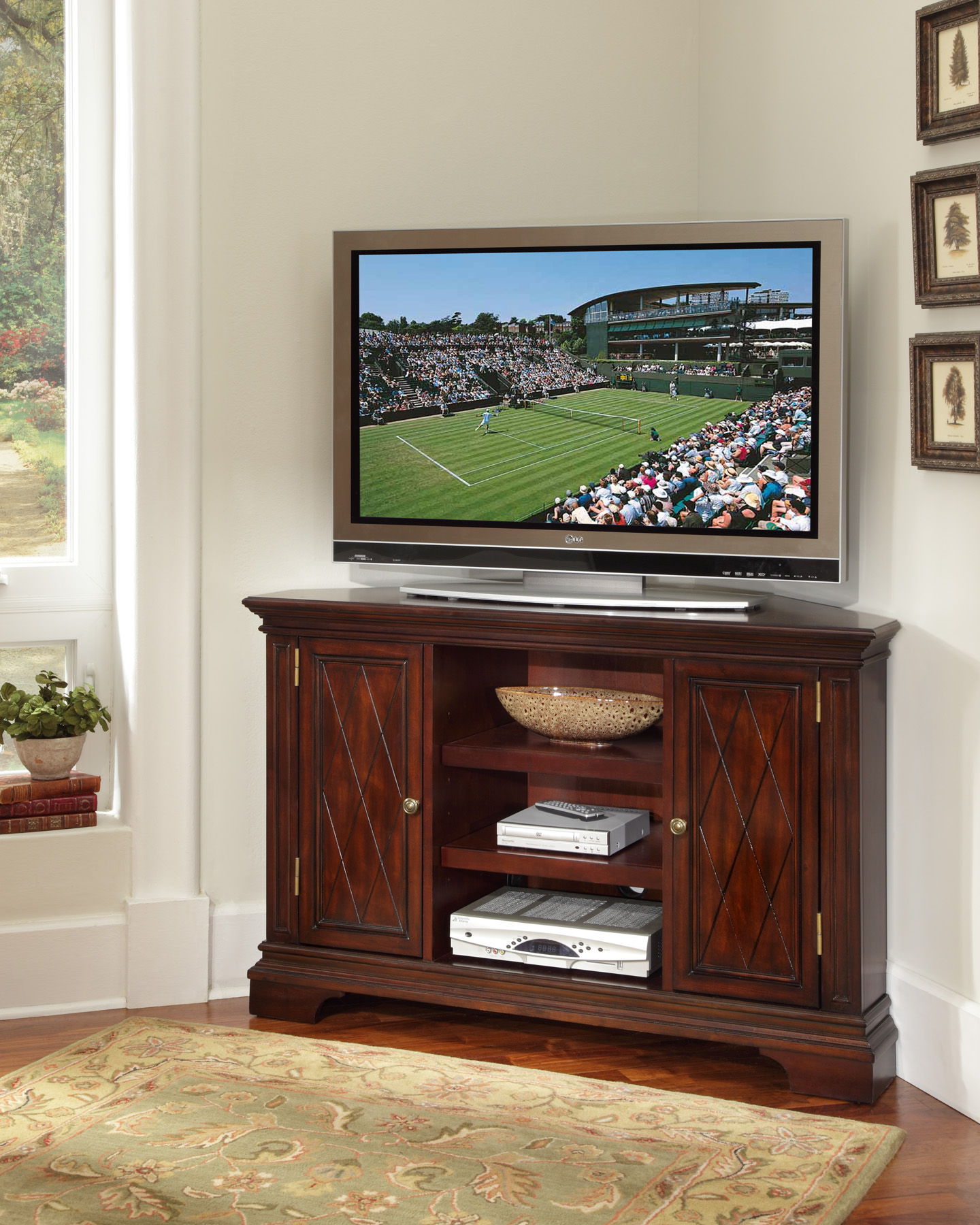 Corner Unit Entertainment Centers HomesFeed