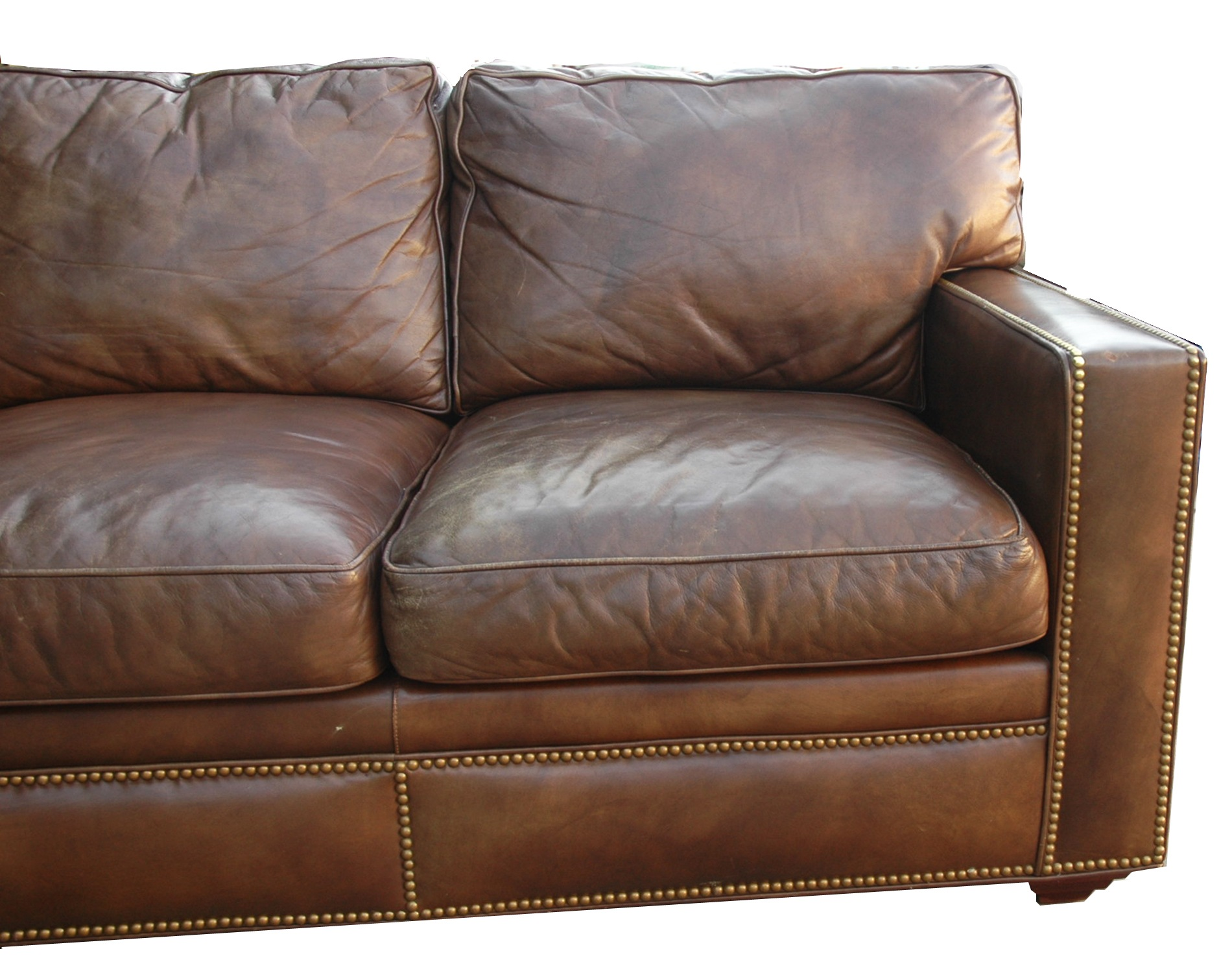 Distressed Leather Sectional Homesfeed  sc 1 st  Centerfieldbar.com : distressed leather sectional - Sectionals, Sofas & Couches