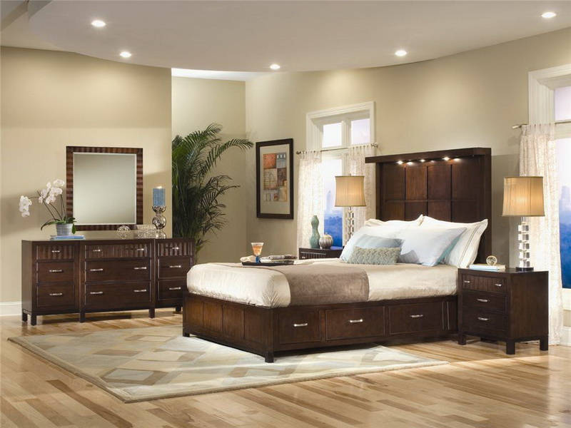 Top Interior Paint Colors that Provide You Surprising Nuance   HomesFeed interior paint colors for 2014 for home and bedroom with wooden bed frame  with headboard plus