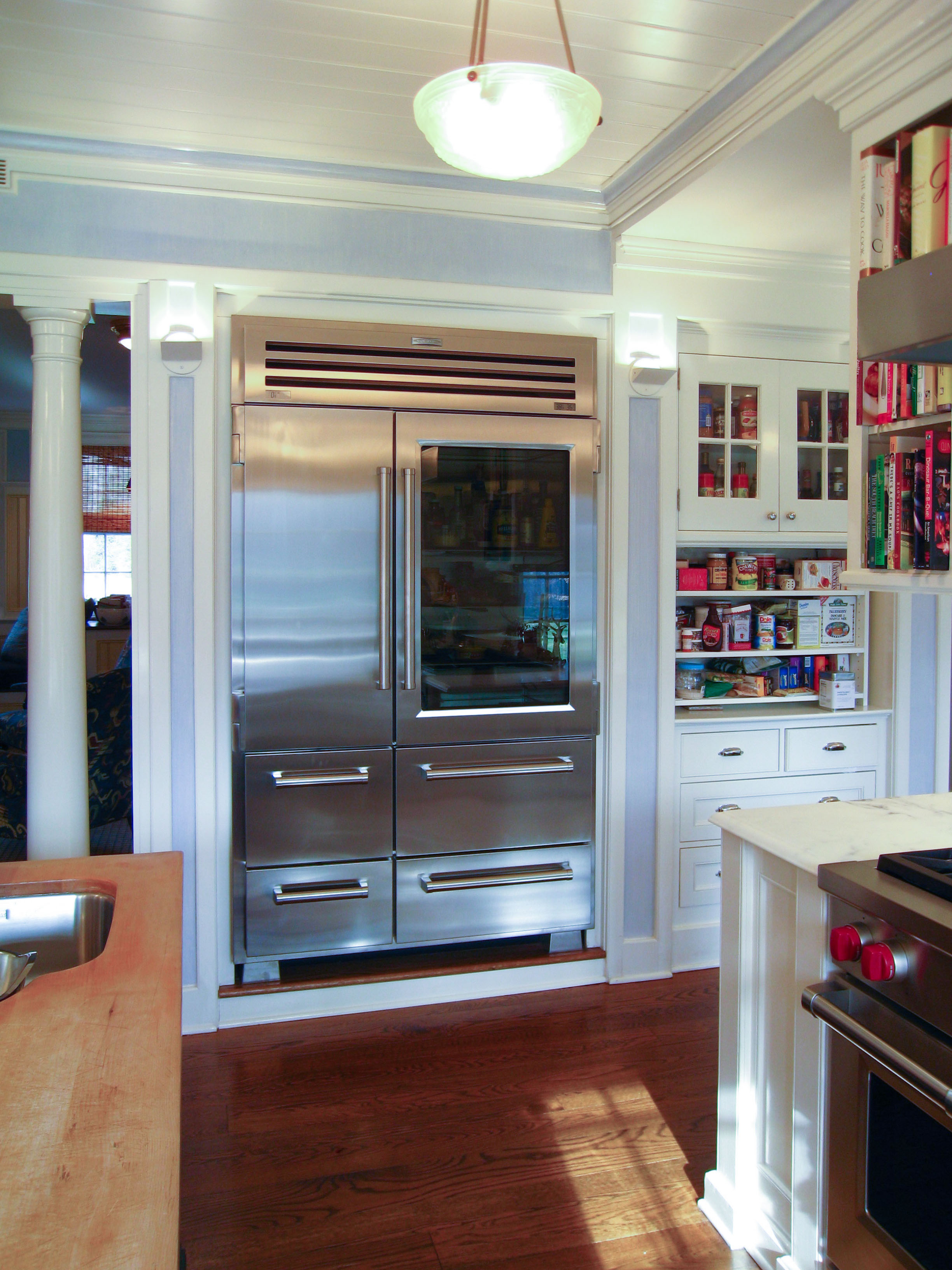 Glass Front Refrigerator For Home