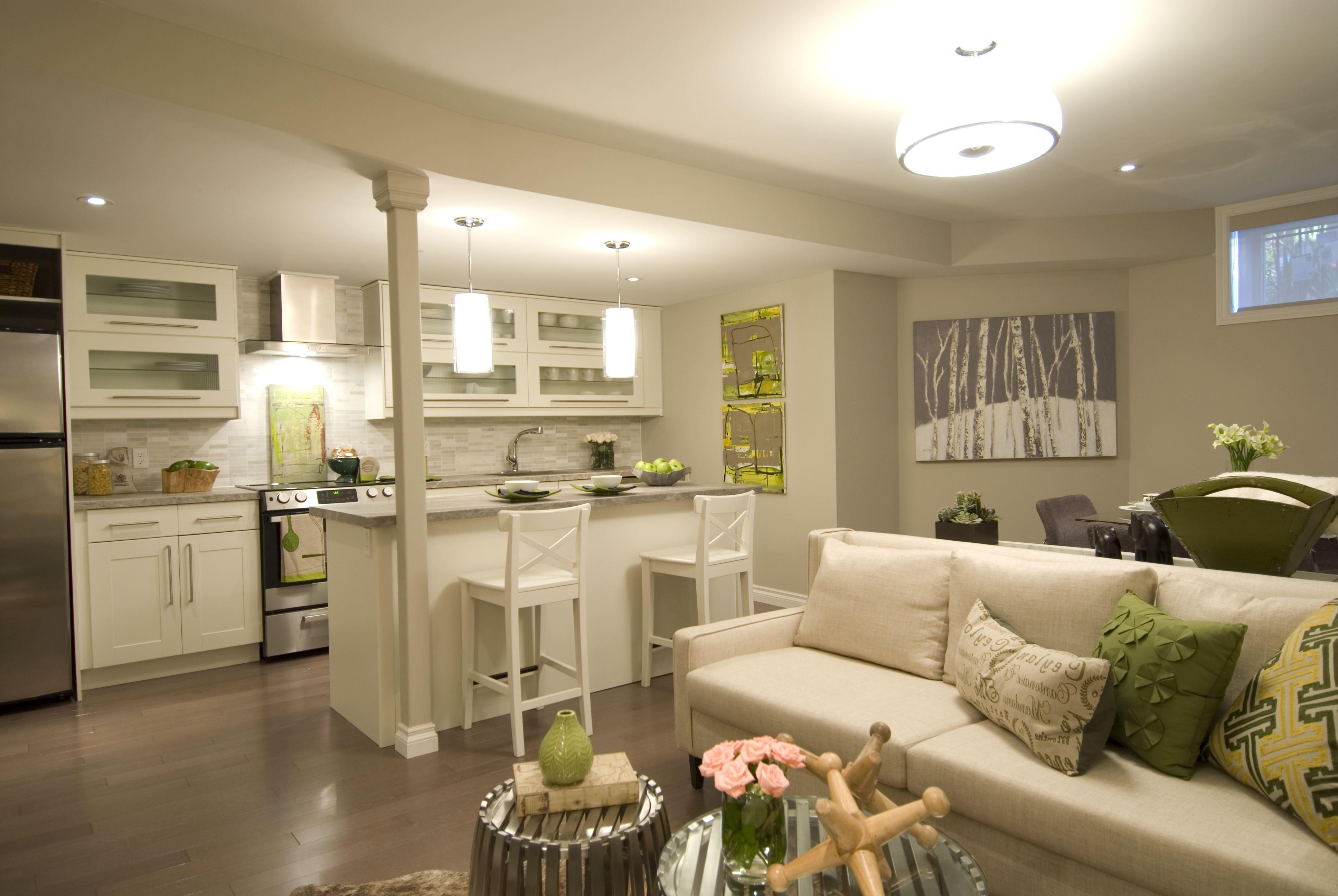 Long Living Room Kitchen Combo Novocom Top
