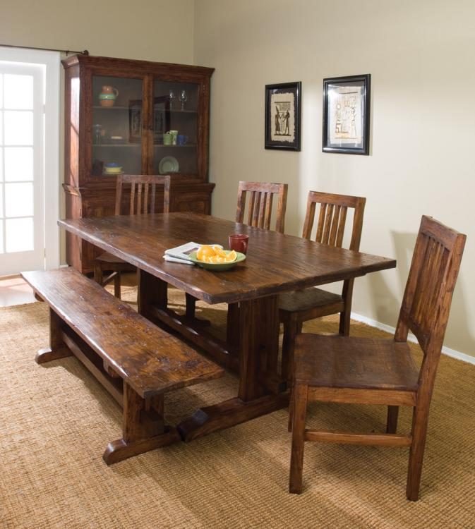 Dining Set Bench And Chairs