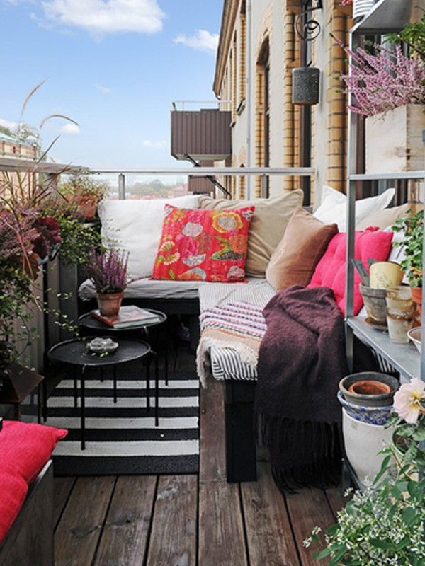 Apartment Balcony Furniture Ideas You Will Be Attracted To