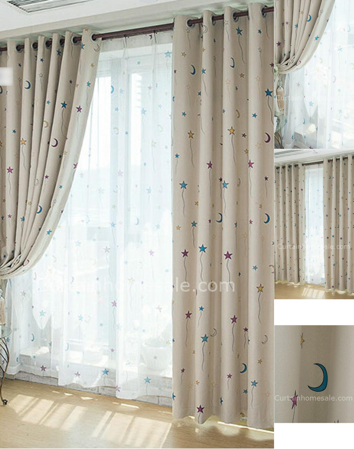 blackout curtains nursery | homesfeed