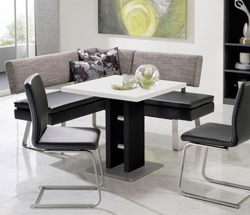 Corner Dining Set With Bench Novocom Top