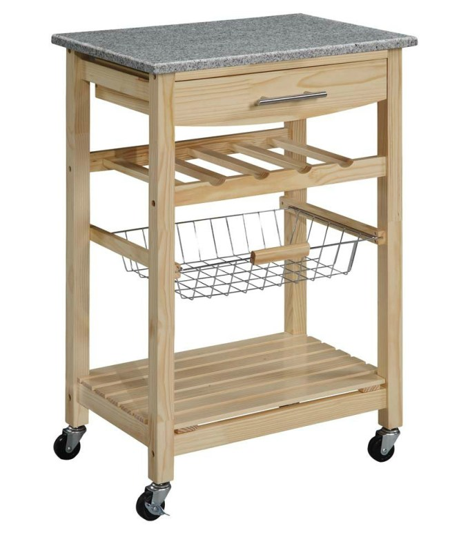kitchen cart with wheels - Kitchen Design