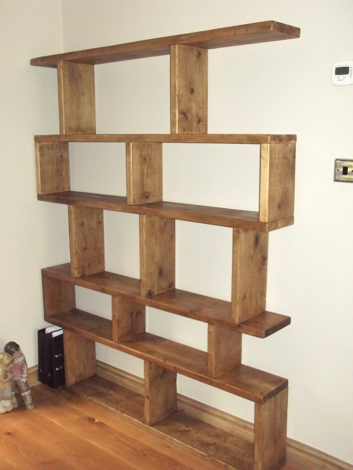 Free Standing Wooden Shelf Plans Search Results Diy A