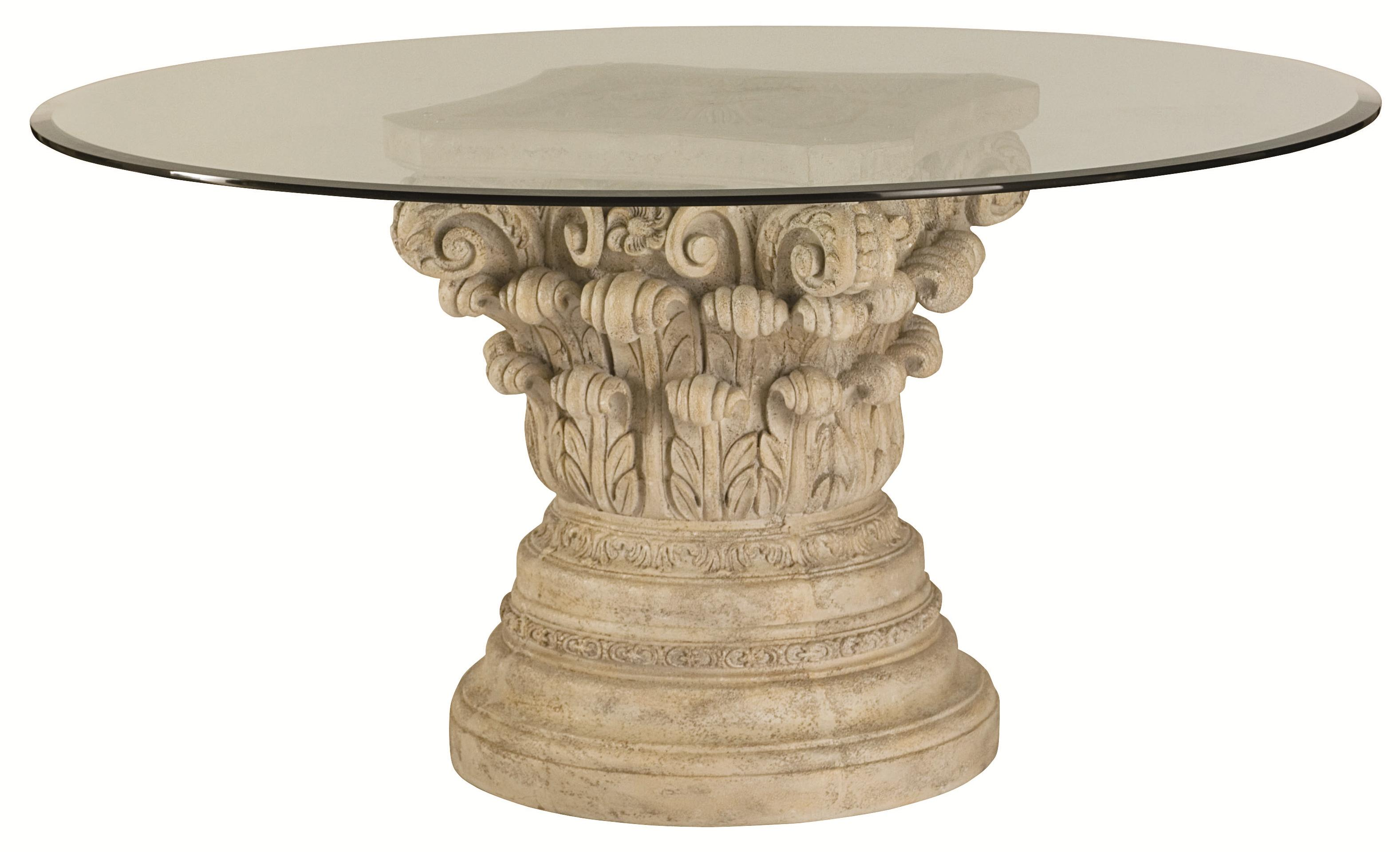 Beautiful Pedestal Table Base For Glass Top