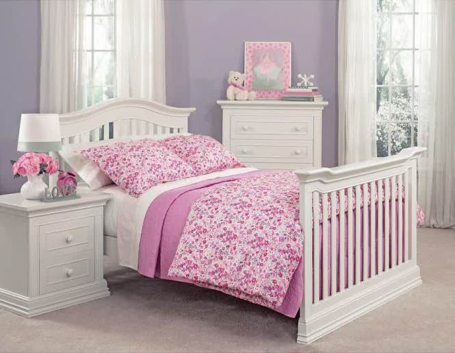 Full Size Bed Frame With Footboard And Headboard For Toddler Flower Comforter Set In Pink
