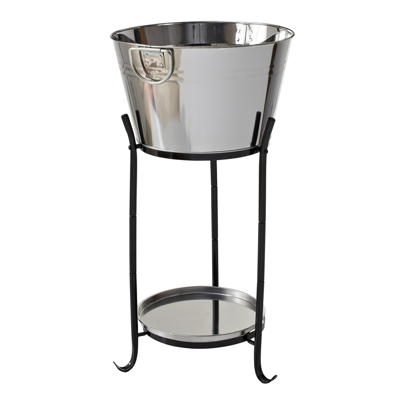 Stand Steel Beverage Stainless Tub
