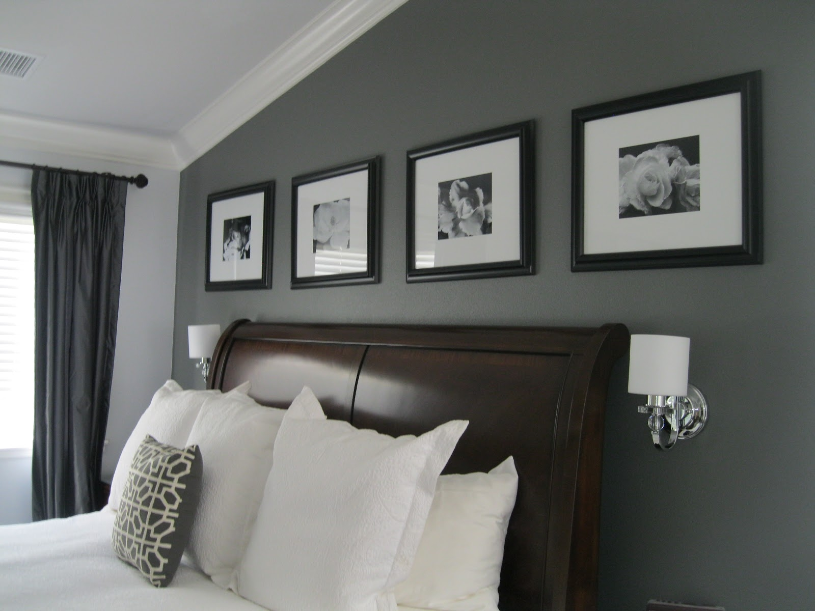 Elegant Gray Paint Colors For Bedrooms