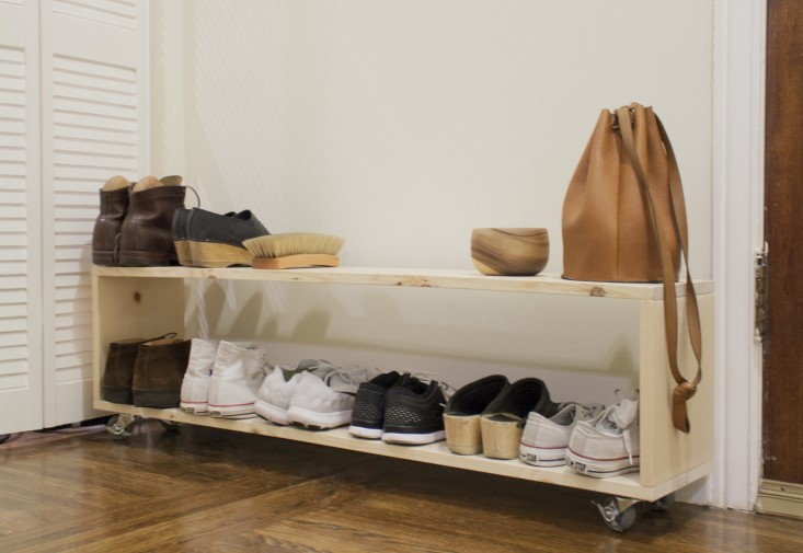 aesthetic shoe rack design ideas