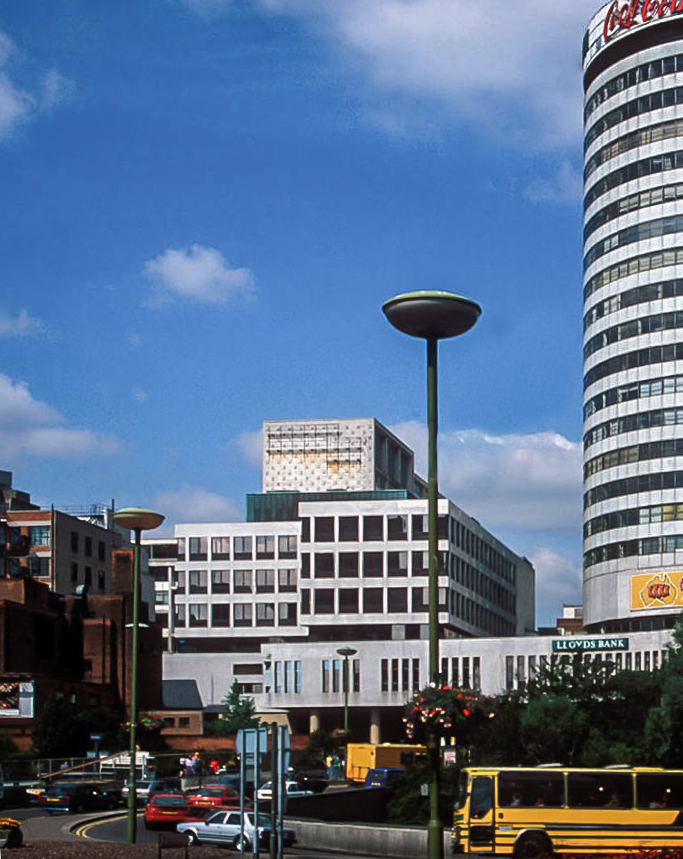 The Bullring Centre in Birmingham looked like this in the mid to late 90's - Expat Kiwi's adventures in Birmingham