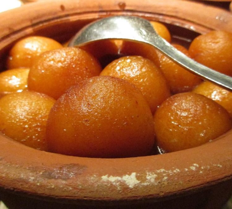 Adventures of Kiwi in India - gulab jamun in the middle of the night