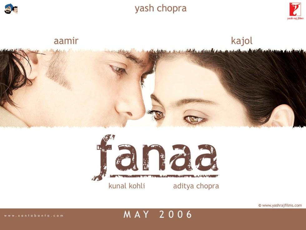 Fanaa movie poster 2006