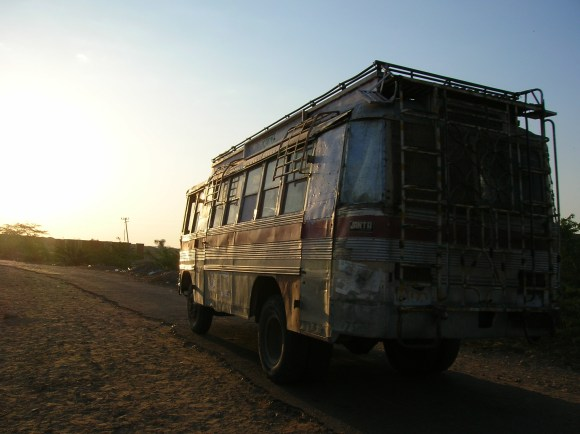 Madmax Bus in India or Nepal - Probably Rajasthan