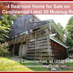 4 Bedroom Candlewood Lakefront Home for Sale | 20 Musnug Rd