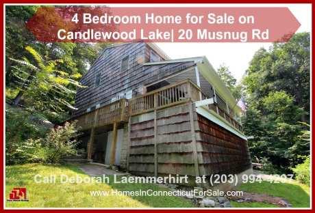 Candlewood lakefront real estate