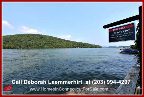 Candlewood lakefront real estate.   Be inspired to create wonderful memories with your loved ones by simply hanging out in the deck of this lakefront home for sale in Candlewood Lake.