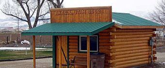 The Post Office in Axtell Utah