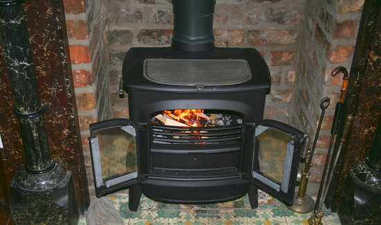 Without proper care wood burning stoves  can be a fire hazard.