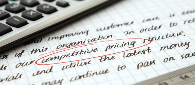 The common mistake when selling is non competitive pricing.