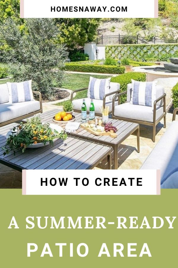 7 Outdoor Essentials To Make Your Patio Summer-Ready