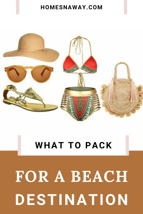 What To Pack For A Beach Vacation {An Illustrative Guide}