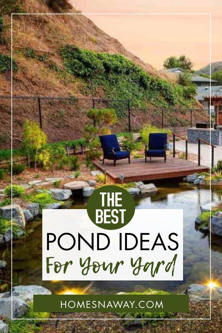 Inspiring Pond Ideas To Brighten Up & Add Interest To Your Yard