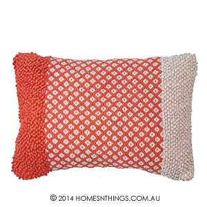 Rapee Tigerlily Orange Cushion