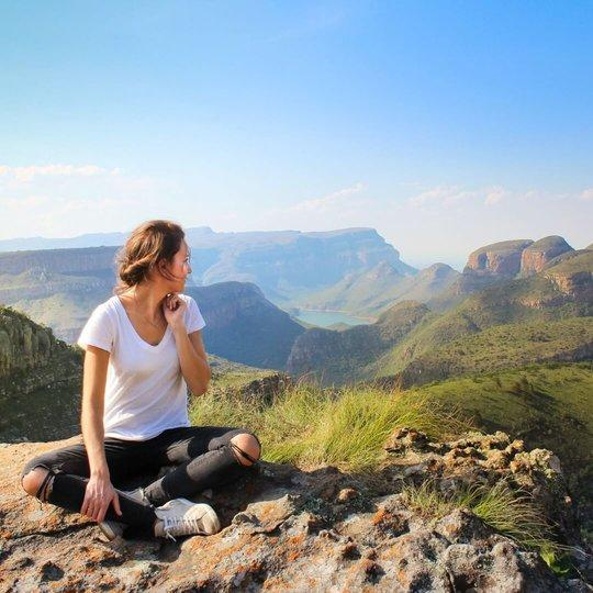Blyde River Canyon in Zuid-Afrika