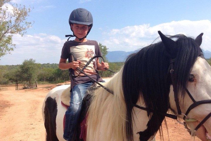 Horse riding kids South Africa