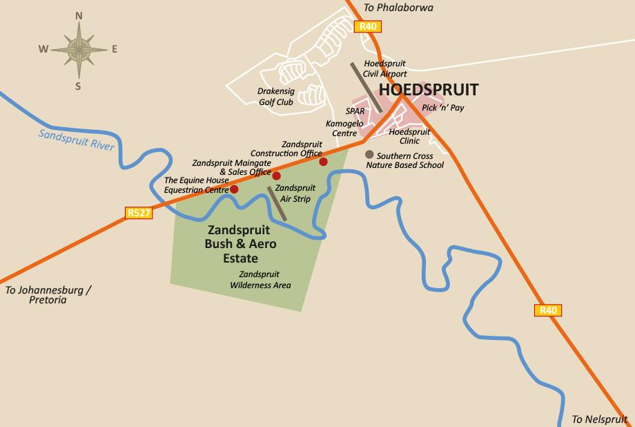 Hoedspruit Zandspruit - Zuid-Afrika