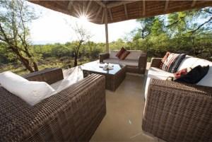 Loungeset Villa Baobab - Zuid-Afrika