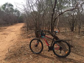 Mountainbike Zuid Afrika