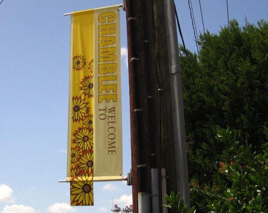 Chamblee Georgia Street Banner