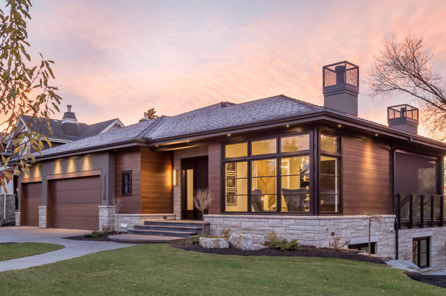Have you ever lived in a classic like a modern type of bungalow?
